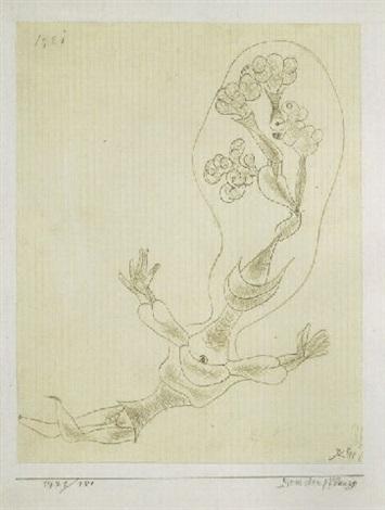 Paul Klee-Menschenpflanze (People Plant)-1921