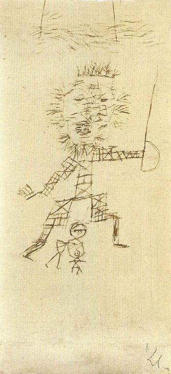 Paul Klee-Der Beschutzer (Protector)-1929