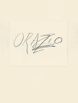 Cy Twombly-Orazio-1976