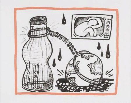 Keith Haring-Keith Haring - Planet earth 4/20-