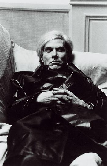 Helmut Newton-Andy Warhol in Paris-1977