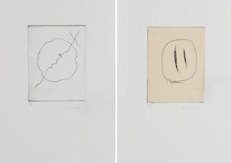Lucio Fontana-Ode a Lucio Fontana. Concetto spaziale-1962