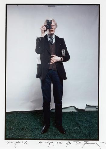 Annie Leibovitz-Andy Warhol-1976