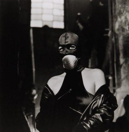 Helmut Newton-Protegee con les vapeurs d'amiante, Milan-1988