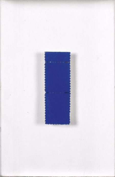 Yves Klein-Deux timbres-1959