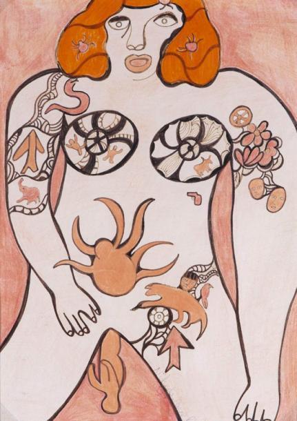 Niki de Saint Phalle-La naissance (Die Geburt)-1985