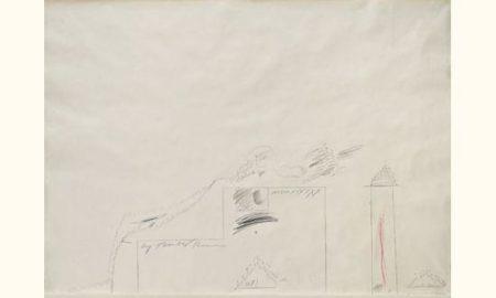 Cy Twombly-Sans titre-1960