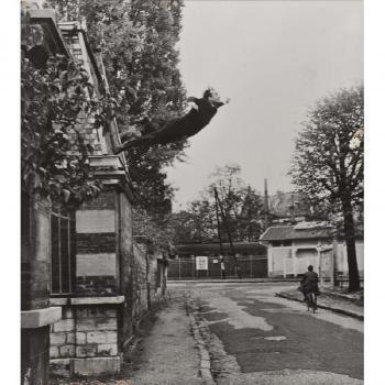 Yves Klein-Le saut dans le vide-1960