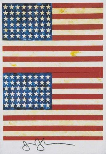 Jasper Johns-Double Flag-1994
