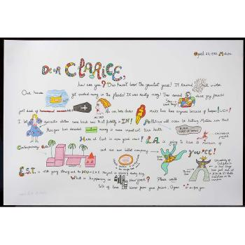 Niki de Saint Phalle-Dear Clarice-1983