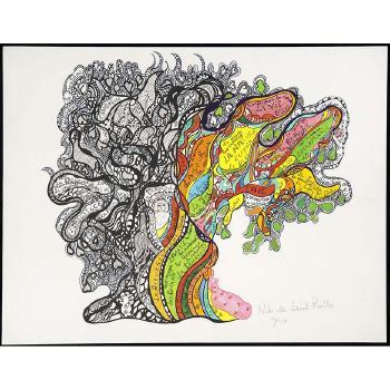 Niki de Saint Phalle-L'arbre, ( L'arbre de la vie)-1970