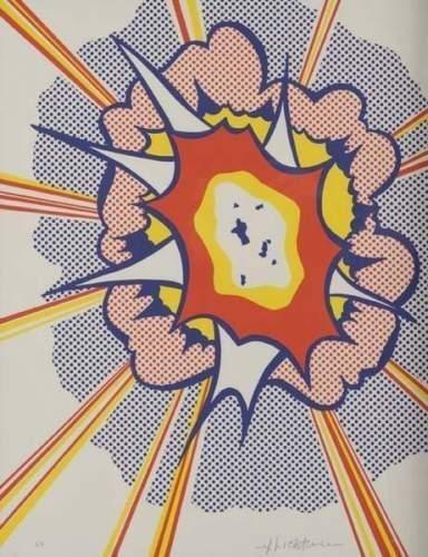 Roy Lichtenstein-Explosion-1967