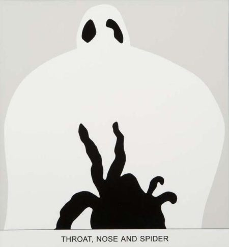 John Baldessari-Sediment: Throat, Nose and Spider-2010