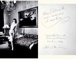 Helmut Newton-Jenny Kapitan, Pension Dorian-1977