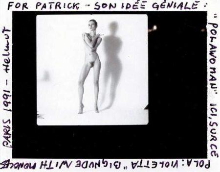 Helmut Newton-Pola Woman: Violetta-1991
