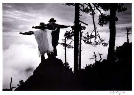 Praying to Mixe God, Oaxaca, Mexico-1980