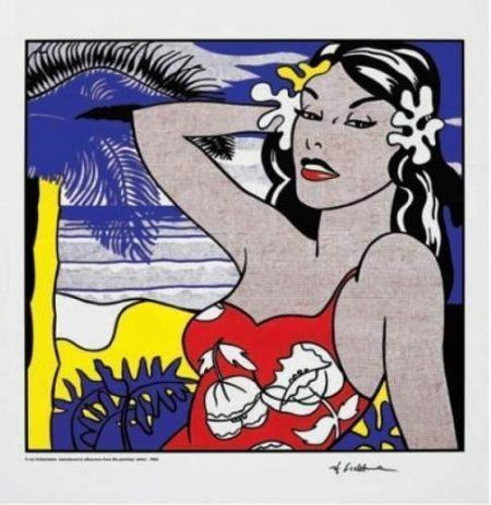 Roy Lichtenstein-Aloha-1962