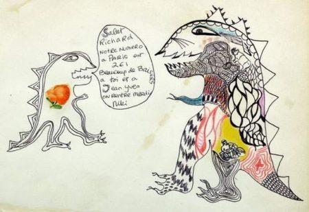 Niki de Saint Phalle-Les dragons-