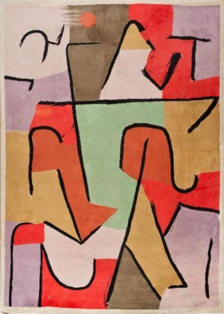 Paul Klee-Indianish-1937