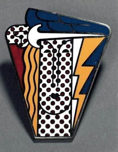 Roy Lichtenstein-Modern Head Brooch-1968