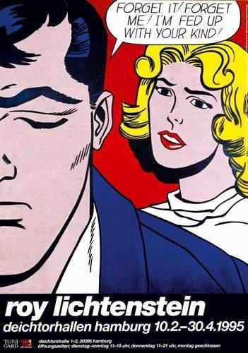 Roy Lichtenstein-Forget It! Forget Me!-1995