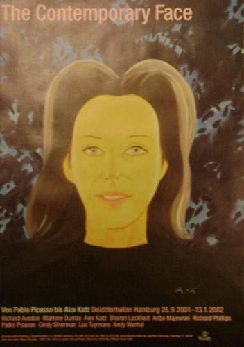 Alex Katz-Black Sweater-2001