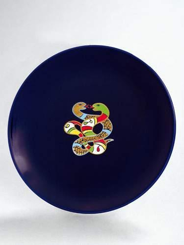 Niki de Saint Phalle-Assiette serpents-1982