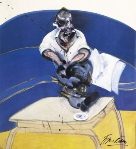 Francis Bacon-Study for a Self Portrait-1987