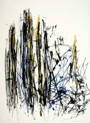 Joan Mitchell-Ensemble De 5 Lithographies (1991)-1991