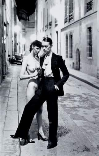 Helmut Newton-Nude in the Street-1993