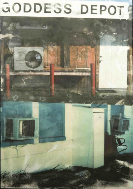 Robert Rauschenberg - In Transit (Goddess Depot)-2001
