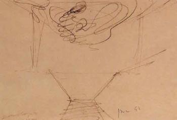 Lucio Fontana-Studio-1951