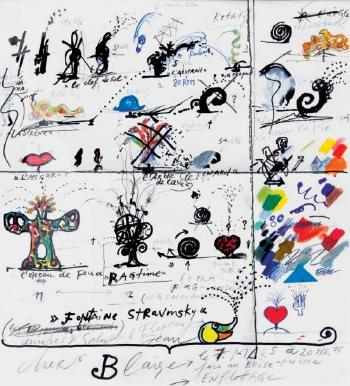 Niki de Saint Phalle-Fontaine Stravinsky, cher Blaise, le 7 mars a 20H15-