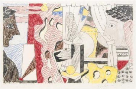 Roy Lichtenstein-Study for Cosmology-1979