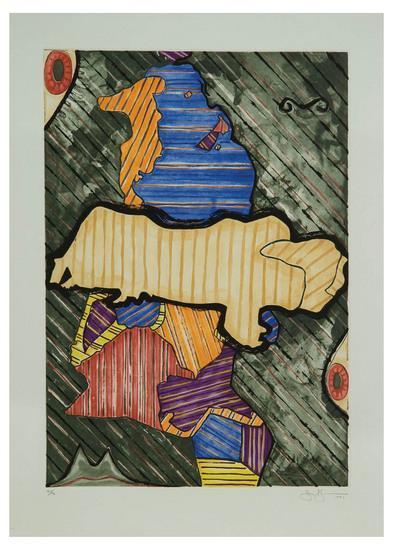 Jasper Johns-Green Angel-1991