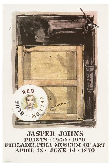 Jasper Johns-Souvenir, Philadelphia Poster (f.127a)-1966