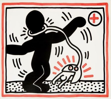 Keith Haring-Keith Haring - Free South Africa-1985