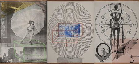 Robert Rauschenberg - Visual Autobography : X-Ray/Circle of Words/Dance-1968