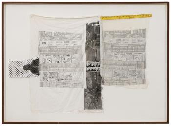 Robert Rauschenberg - Sheephead (From The Airport Series)-1974