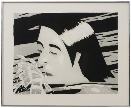 Alex Katz-The Swimmer-1974