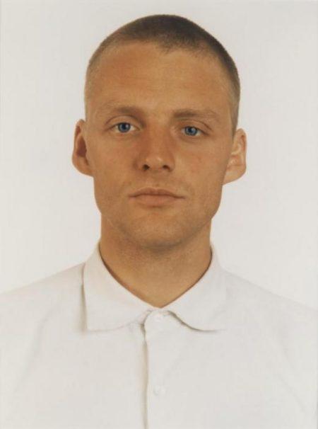Thomas Ruff-Portrait R.M./B.E. dalla serie Blaue Augen-1991