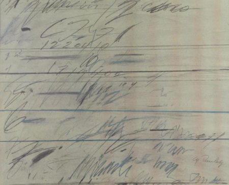 Cy Twombly-Roman Notes-