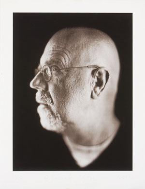 Chuck Close-Self portrait 1dx-2002