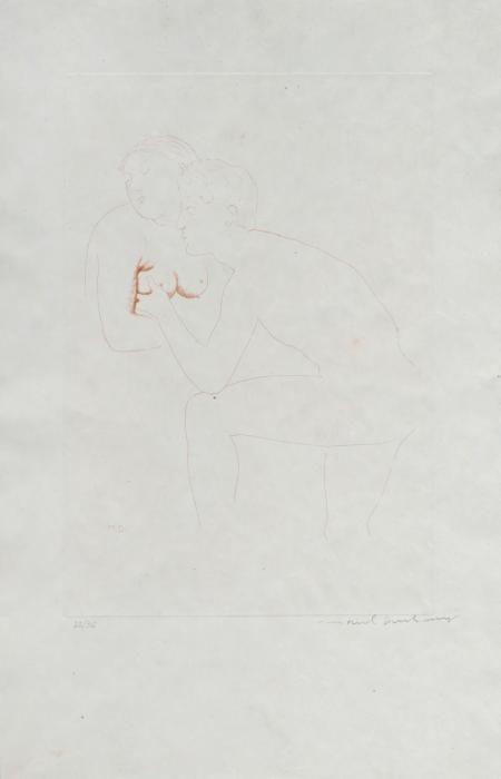 Marcel Duchamp-Morceaux choisis d'apres Ingres, II-1968