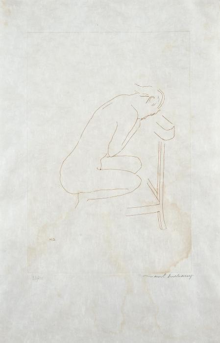 Marcel Duchamp-La Mariee mise a nu-1968