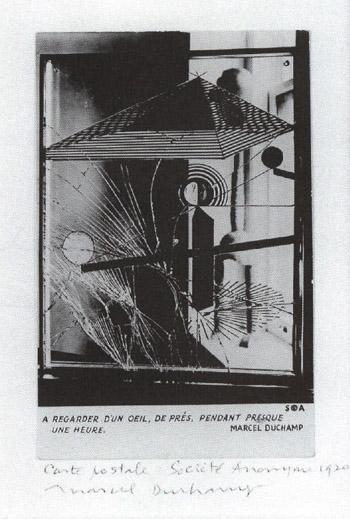 Marcel Duchamp-A regarder d'un oeil de pres pendant presque une heure-1920