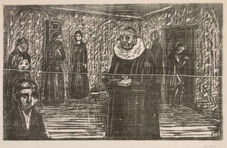 Edvard Munch-Sakrament-1922