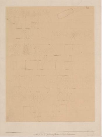 Paul Klee-1922/41 (Zeichnung II zu 1922/42)-1922