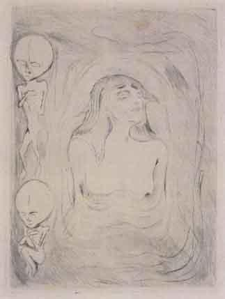 Edvard Munch-Madonna-1894