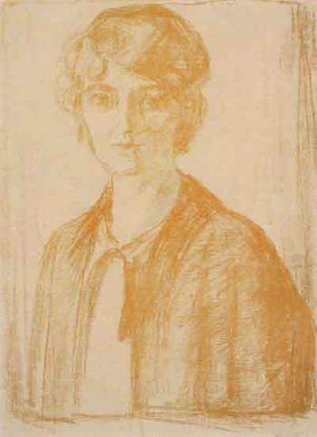 Edvard Munch-Hjordis Gierloff-1913